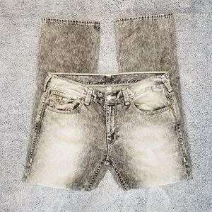 True Religion Men's Straight Mega T Jeans